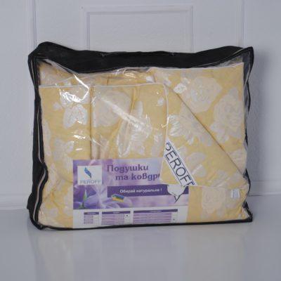 Одеяло пуховое 90% пух / 10% перо — Евро (200*220см)