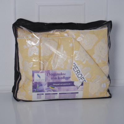 Одеяло пуховое 50% пух/ 50% перо — 2-спальное (175*210см)